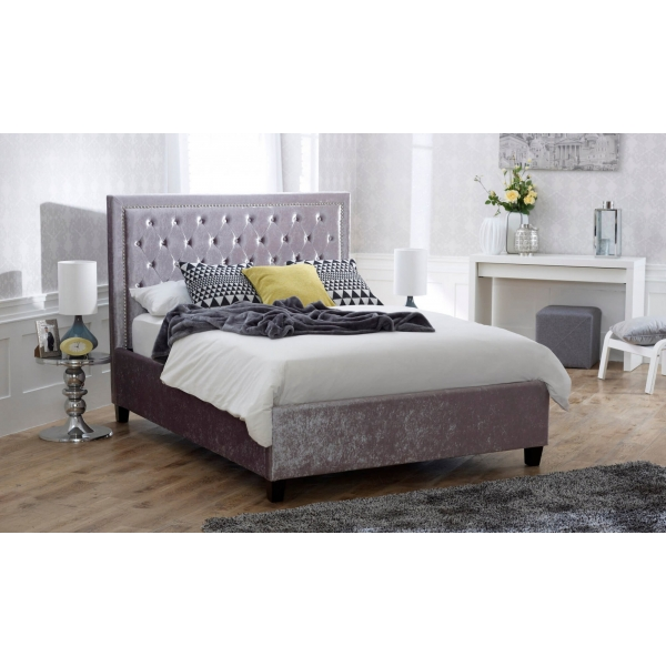 Rhea Bedstead - Crushed Ice