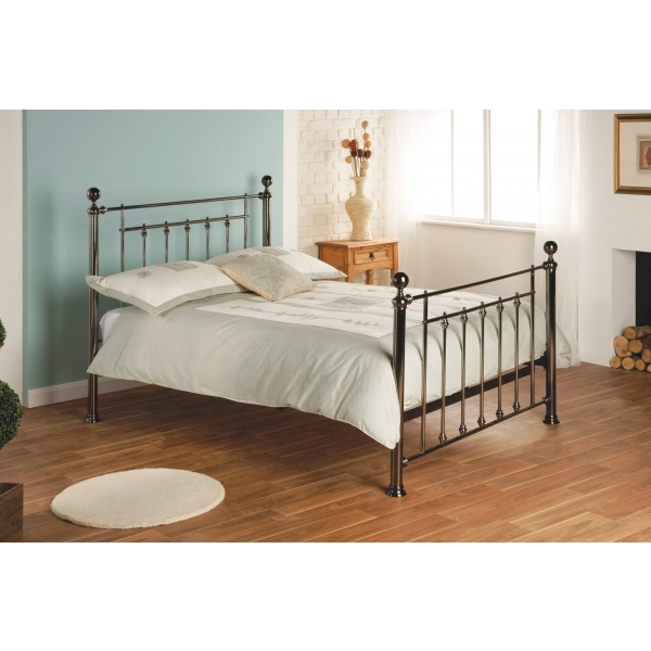 Libra Bedstead - Black Chrome